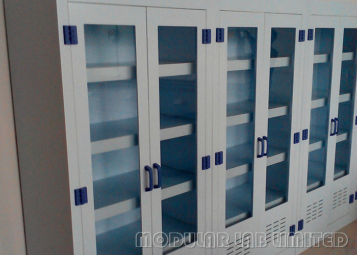 Adjustable Shelves Chemical Storage Cabinets 750*400*1800mm With Extra Safety Lock